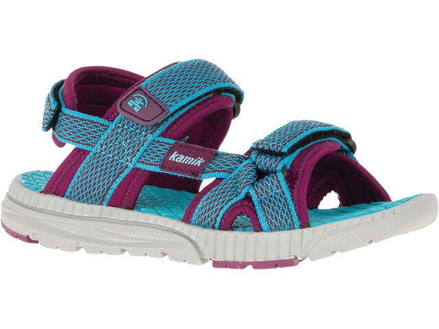 Kamik Match Sandals Kids Teal